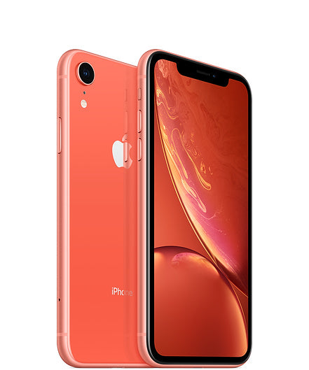 Apple iPhone XR A1984 128GB - Coral - (Unlocked) Very Good Condition