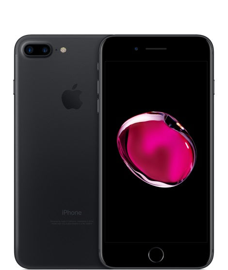 Apple iPhone 7 plus 32GB A1784 - Matte Black - (Unlocked) Fair Condition