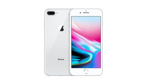 Apple iPhone 8 Plus A1897 64GB - Silver - (Unlocked) Very Good Condition