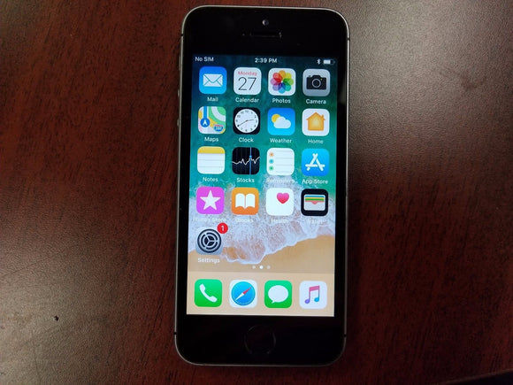 Apple iPhone SE A1723 - 16GB - Space Grey (Unlocked) Fair Condition - gorecell