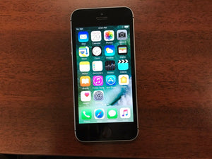 Apple iPhone SE A1723 - 16GB - Space Grey (Bell Mobility) Good Condition - gorecell