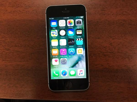 Apple iPhone SE A1723 - 16GB - Space Grey (Unlocked) Good Condition - gorecell