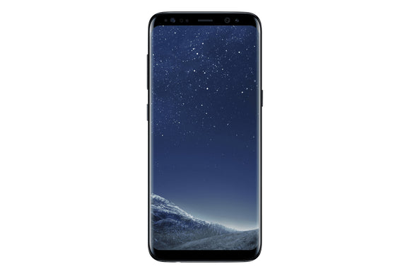 Samsung Galaxy S8 SM-G950W 64GB Midnight Black (Unlocked) Good-Fair Condition