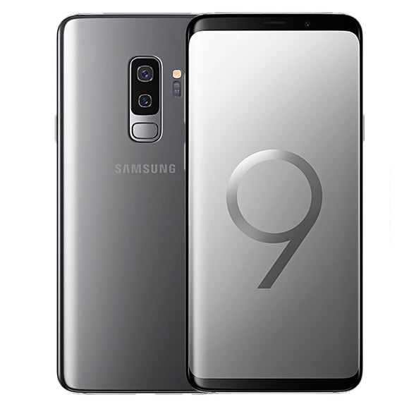 Samsung Galaxy S9+ SM-G965W 64GB Titanium Gray (Unlocked) Good Condition