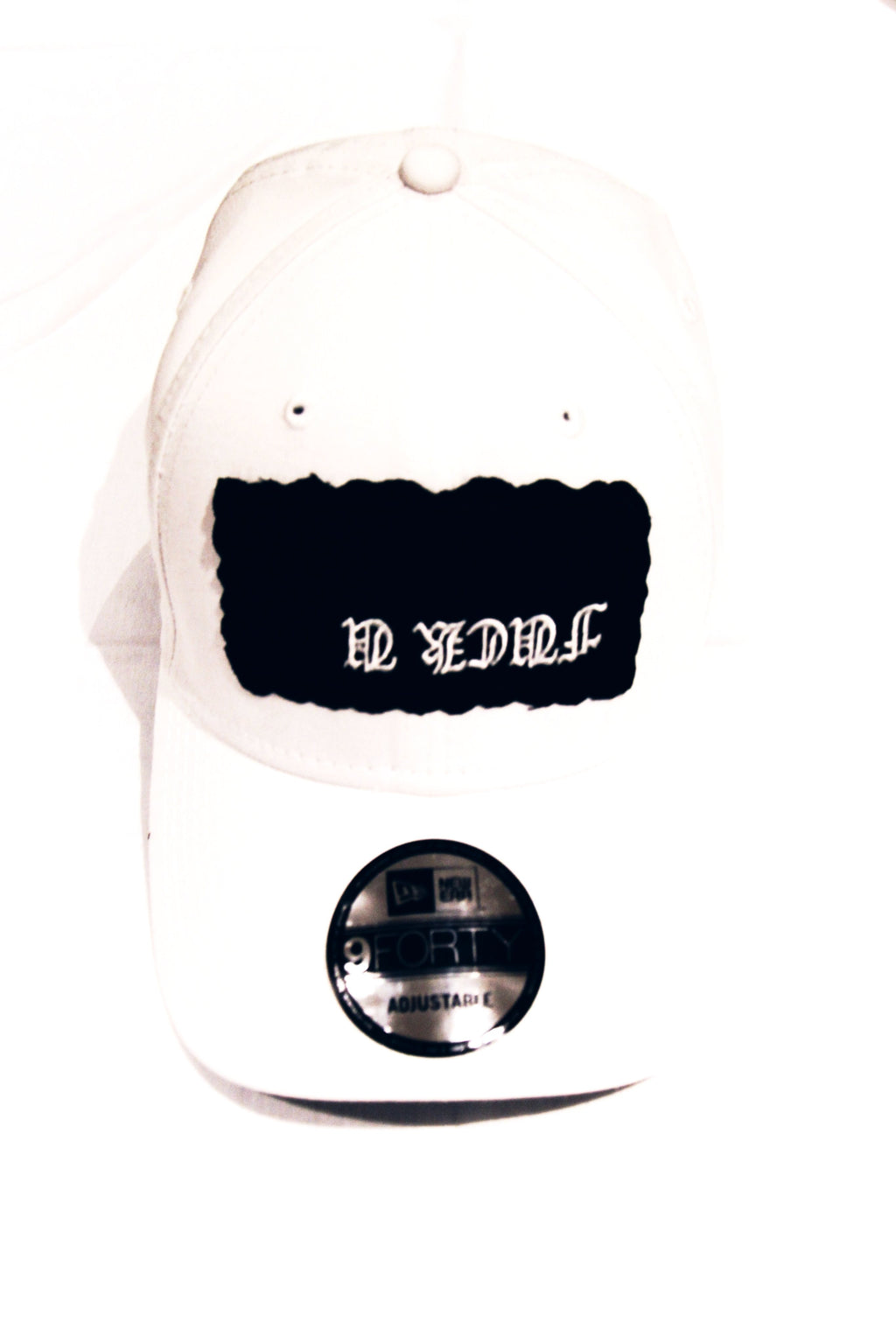 F*ck You Snapback Hat | White