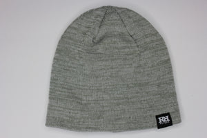 Light grey mix toque