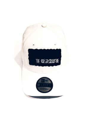 Rated R Snapback Hat | White