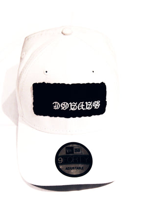 Savage Snapback Hat | White