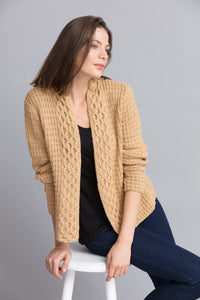Cyndi Honeycomb Cardigan