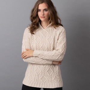 Avery Cabled Pullover