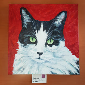 Original Cat Painting