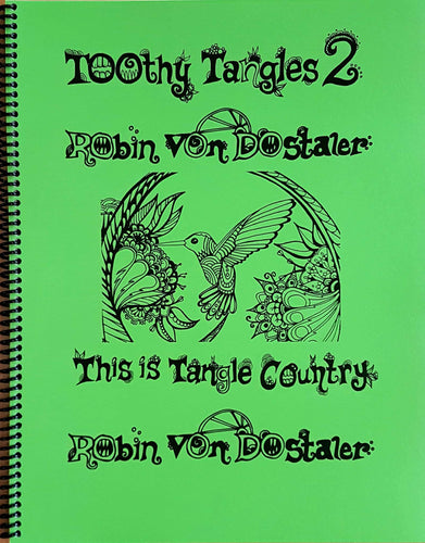 Toothy Tangles 2 - Colouring Book
