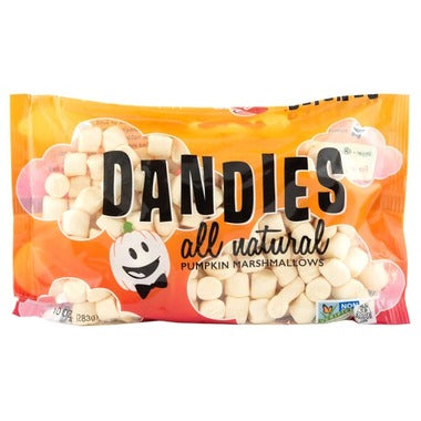 Pumpkin Spice Dandies Marshmallows - CLEARANCE - *Seasonal*