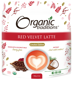Red Velvet Latte Mix - Organic Traditions