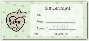 Gift Certificates (paper)