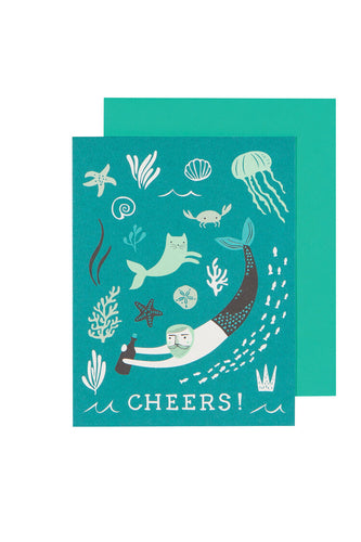 Greeting Card - Sea Spell