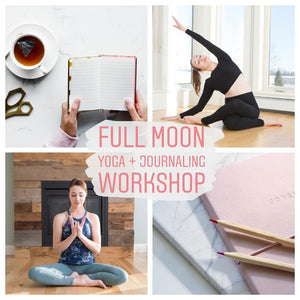 Full Moon Yoga and Journaling Workshop