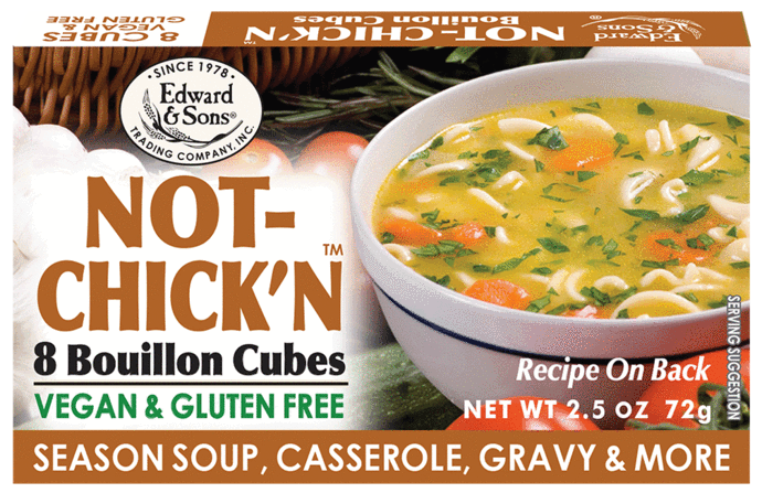 Not-Chick'n Bouillon - Edward & Sons