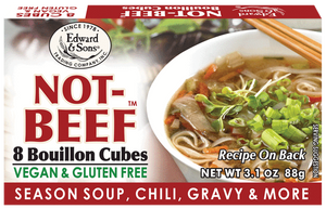 Not-Beef Bouillon - Edward & Sons