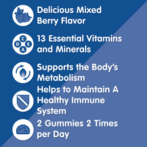 Multi Vitamin Gummies - Herbaland