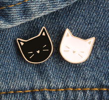 Cat Head ~ Lapel Pin