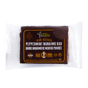 Peppermint Nanaimo Bar - Sweets From The Earth **Frozen Item**