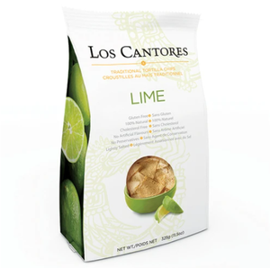 Lime Tortilla Chips - Los Cantores