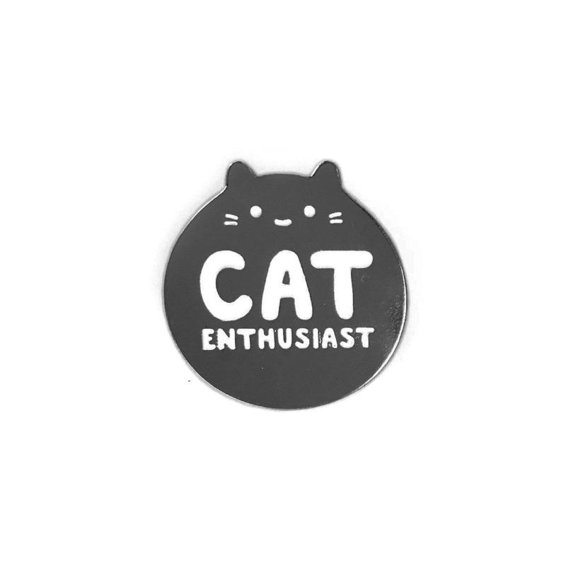 Cat Enthusiast ~ Lapel Pin
