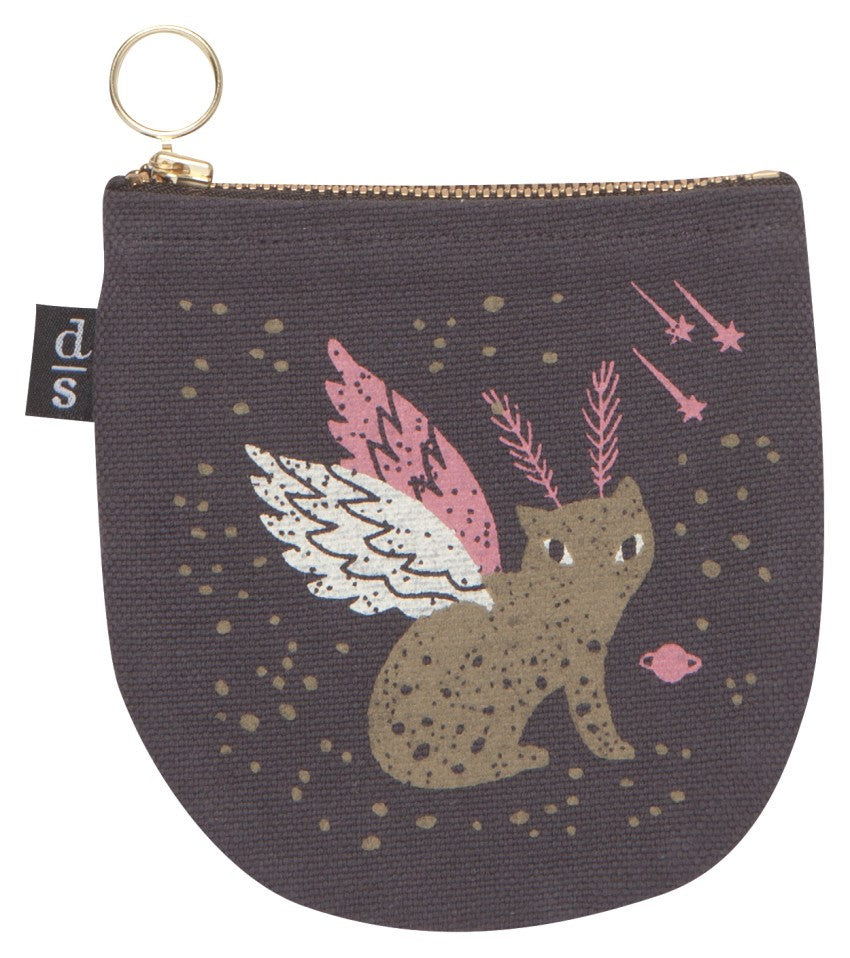 Coin Pouch - Galaxy Cat