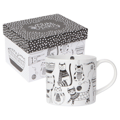 Purr Party Mug with Gift Box