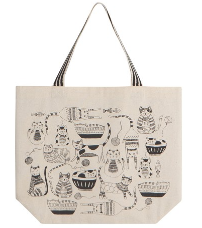 Tote Bag - Purr Party