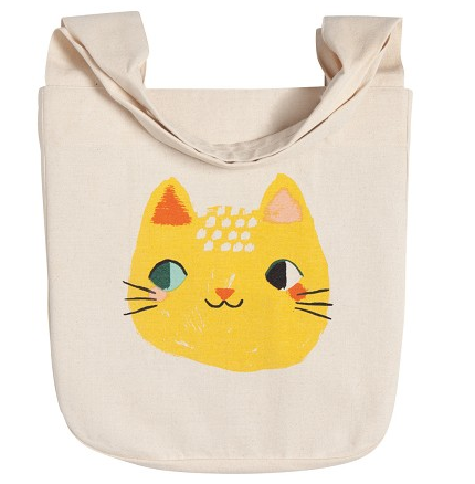 Tote Bag - Yellow Cat