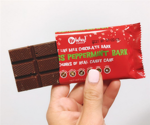 Peppermint Bark - No Whey Chocolate