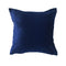 "Velvet Pillow, Dark Blue - 16"" x 16"""