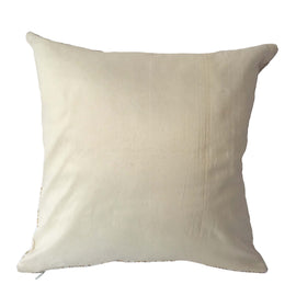 Stupa Print Pillow, Ivory White - 16
