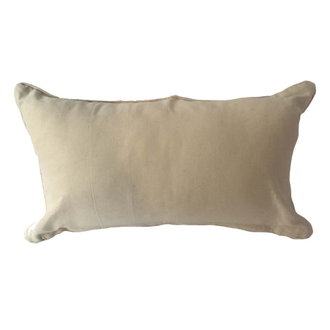 Woven Diamond Pattern Pillow, Beige/Black  - 14