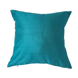 Lotus Pattern Pillow, Turquoise -  16