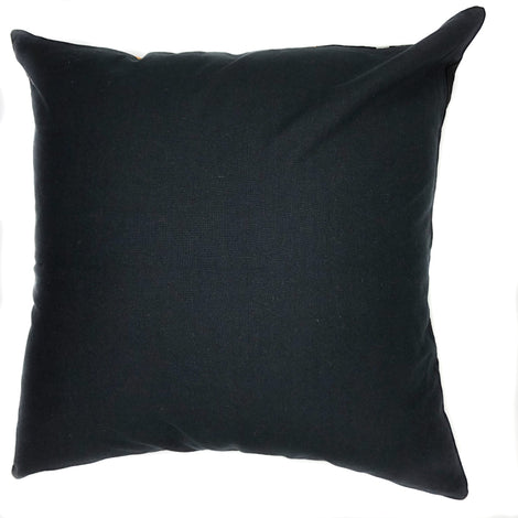 "Velvet Pillow - Dark Blue - 24"" x 24"""