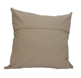 Suzani Style Beige/Red Embroidered Pillow - 20