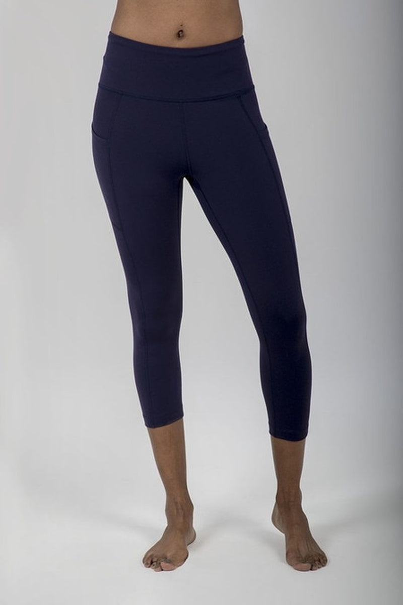Ultra High Waist Pocket Yoga Capri