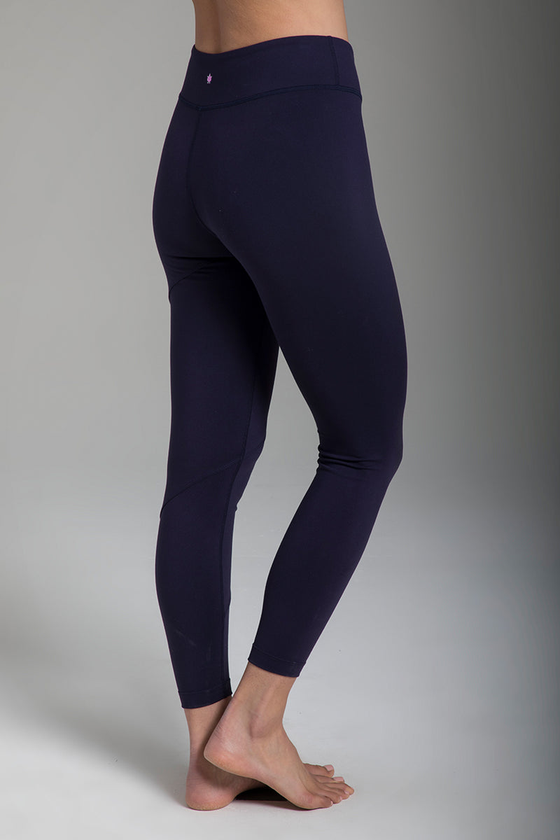 KiraGrace Warrior Tiffany Seva Yoga Legging Navy | FerBen Style