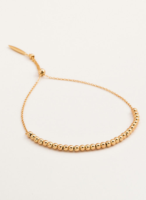 Gorjana Newport Adjustable Bracelet Gold