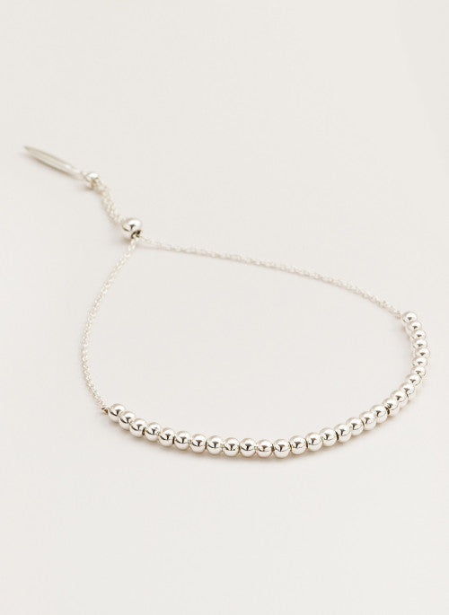 Gorjana Newport Adjustable Bracelet Silver