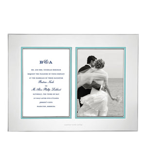 Kate Spade Take the Cake Frame Double Invitation Frame