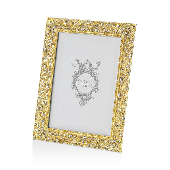 "Olivia Riegel Gold Windsor Frame, 4"" x 6"