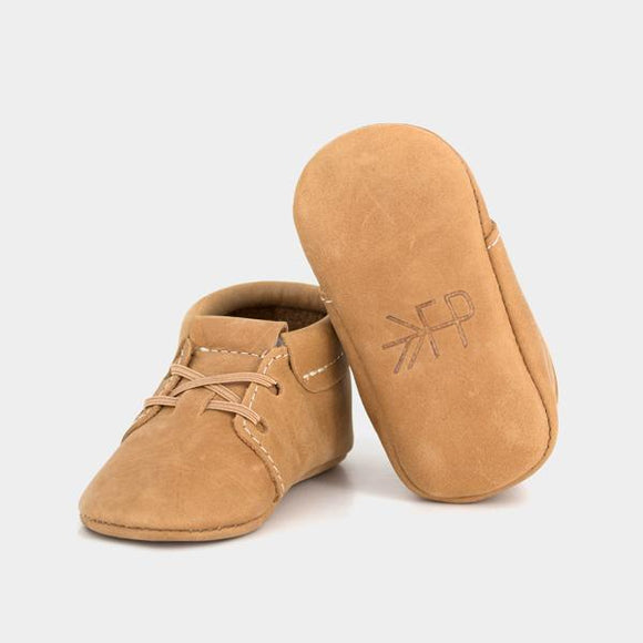 Freshly Picked Baby Oxford Moccasins- Cedar