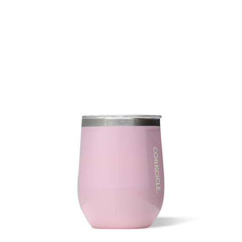 Corkcicle 12 oz Pink Classic Stemless