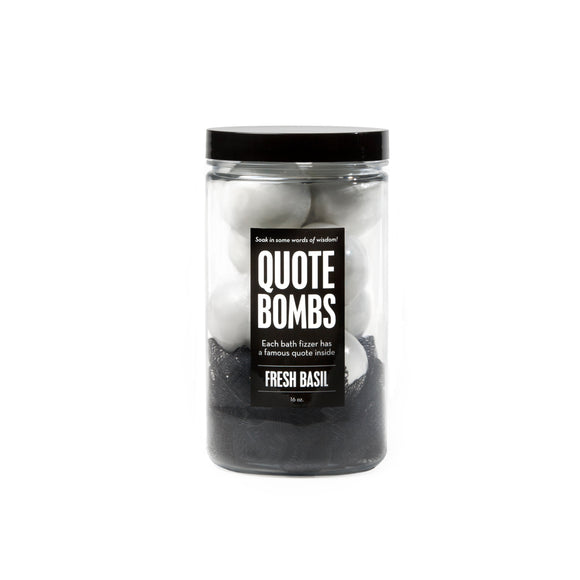 Jar of Quote Bombs