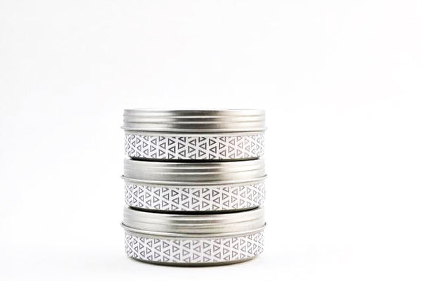 Set of Three Candles - Travel Tin