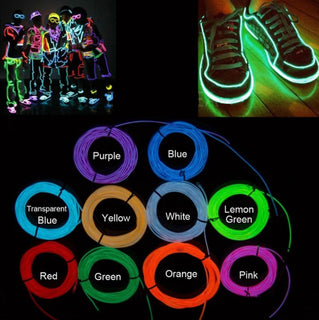 """Live Wire"" 3 Meter Neon Light Flexible Wire"